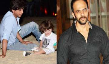 abram learnt to play with cars from rohit shetty...