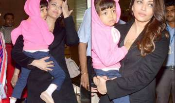 aishwarya rai bachchan and daughter aaradhya...