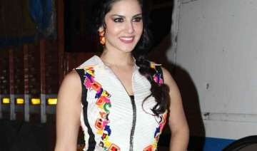 pregnancy not on sunny leone s mind - India TV
