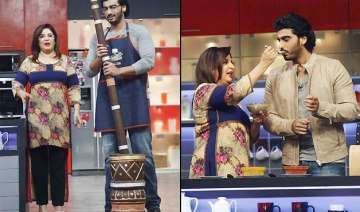arjun kapoor sprucing up cooking skills for...