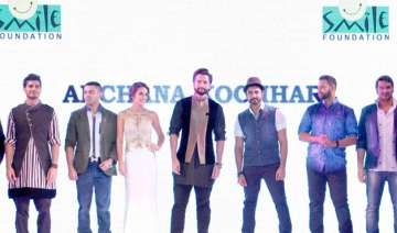 bollywood walks the ramp for smile foundation -...