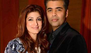 karan johar found my moustache hot twinkle khanna...
