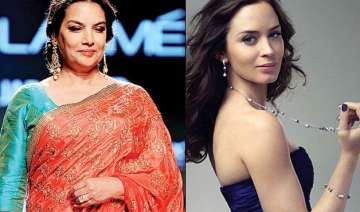 why are shabana azmi emily blunt criticising...
