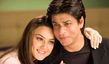 srk only actor who can make me cry preity zinta -...