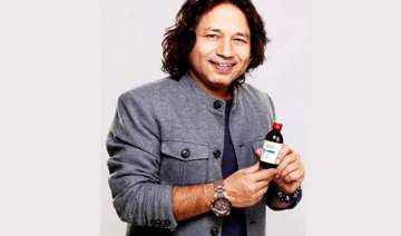 kailash kher endorses cough syrup - India TV