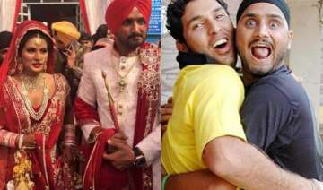 this is how yuvraj wished bff bhajji on his...