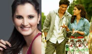 when the dilwale team treated sania mirza with...