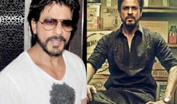 see pic shah rukh injures himself again spotted...