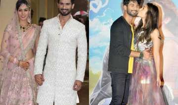 how shahid s wedding helped him prepare for...