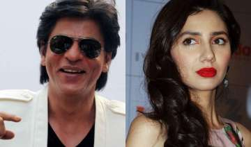shah rukh is the best co star mahira khan could...