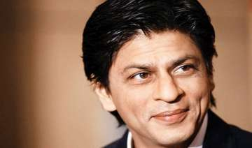 shah rukh khan launches fan logo watch video -...