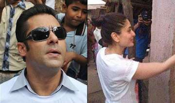 salman khan makes kareena kabir himesh paint an...
