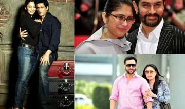 shah rukh aamir saif s wives victims of love...