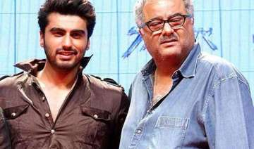 boney kapoor in tears over son arjun s tevar -...