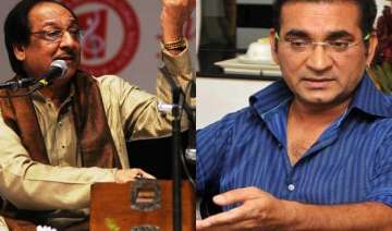 abhijeet insults ghulam ali calls him dengue...