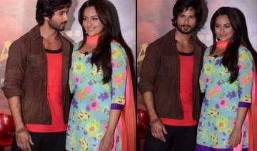 is something brewing between sonakshi and shahid...