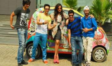 jugaad song launch for comedy movie fukrey -...