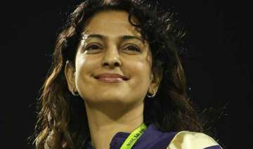 juhi chawla heads to jagannath temple after ipl...
