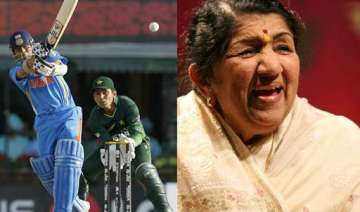 lata fasted for team india during 9 hour mohali...