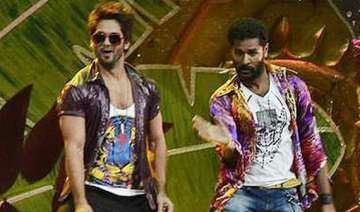 prabhudheva and shahid kapoor to match steps in...