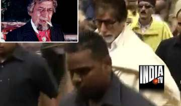 pran was admirable delightful big b - India TV