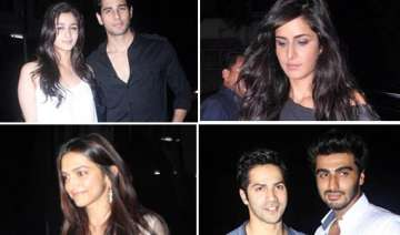 priyanka ranbir katrina alia attended the...