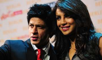 priyanka hops on to srk s aircraft offloads many...