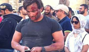 saif ali khan falls ill in beirut shooting of...