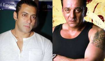 salman had a spat with sanjay dutt - India TV