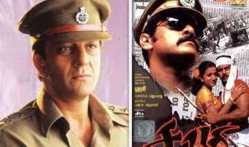 sanjay to play supercop in remake of tamil film...
