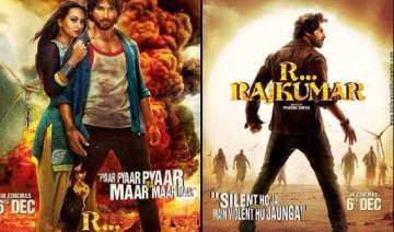 shahid kapoor s r..rajkumar first poster out view...