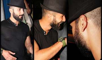 shahid kapoor s latest haider look out see pics -...
