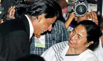 shahrukh declares he is a big fan of mamata -...