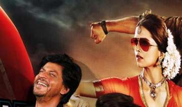 shh rukh khan deepika at launch of first look of...