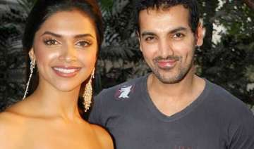 something is brewing between john deepika - India...