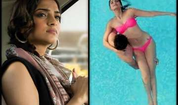 sonam kapoor upset with media s twisted remarks...