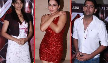 stars spotted at pre release party of bhadaas...