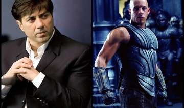 sunny deol to dub for diesel in riddick - India TV