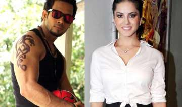 sunny leone shoots with south actor bharath for...