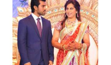 stars from the south flock to teja s wedding -...