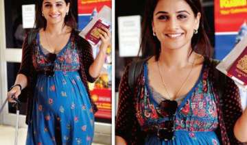 vidya takes pregnancy tips from sister for...
