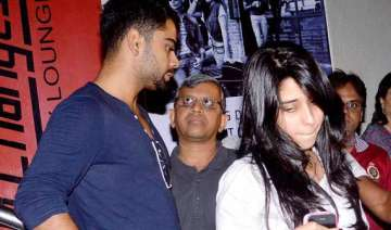 virat kohli spotted with a girl at pvr juhu view...
