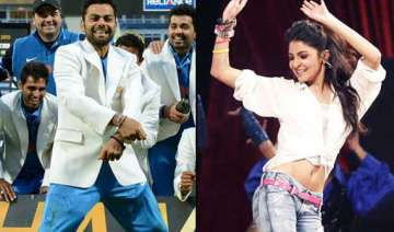 virat kohli to do salsa with anushka sharma -...