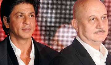 anupam kher to shoot with srk for his tv show -...