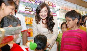 dia mirza to create eco awareness among children...