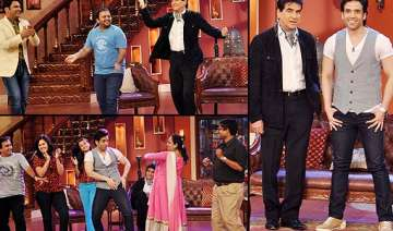 comedy nights with kapil jeetendra dances on the...