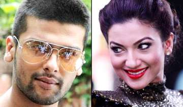 kushal tandon fights in france to save gauhar s...
