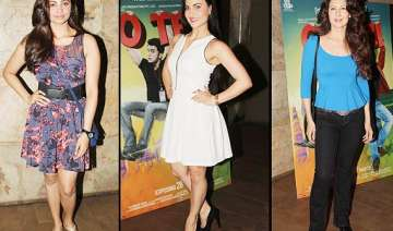 o teri special screening not salman but his lady...