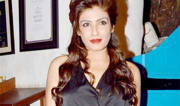 raveena wants new government to focus on...