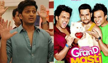 no more grand masti for me says riteish deshmukh...